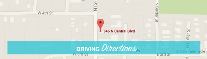 Pahls Family Dentistry BUTTON DRIVING DIRECTIONS